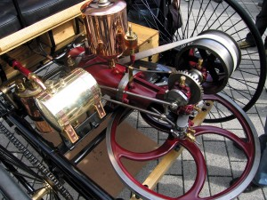 Motor do Patent Motorwagen