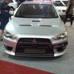 Frente do Lancer Evolution