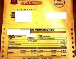 IPVA Mercedes