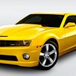 Camaro SS Amarelo