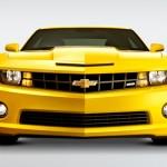 Camaro SS Amarelo Frente