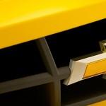 Camaro SS Amarelo Grade