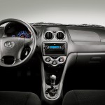 Interior do Jac Motors J3
