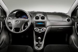 Interior do Jac Motors J3