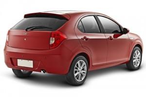 Jac Motors J3 traseira vermelho
