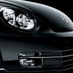 Volkswagen 2012 Beetle Black Turbo farol e grade