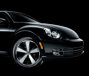 Volkswagen 2012 Beetle Black Turbo frente