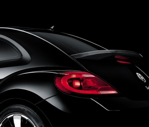 Volkswagen 2012 Beetle Black Turbo traseira
