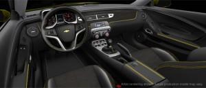 Camaro Transformers Special Edition Interior