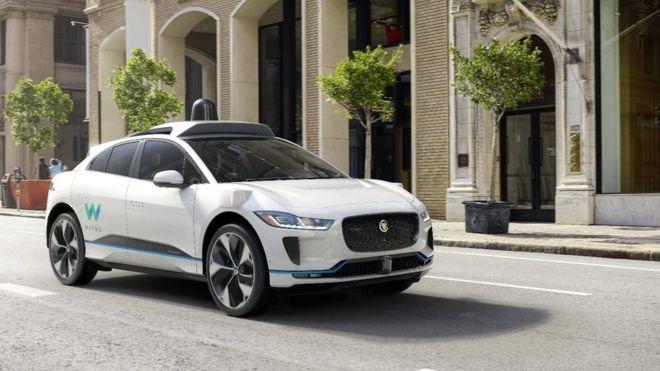 Jaguar I-Pace Autônomo